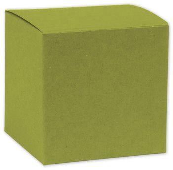 Kiwi Green Gift Boxes, 8 x 8 x 5 1/2