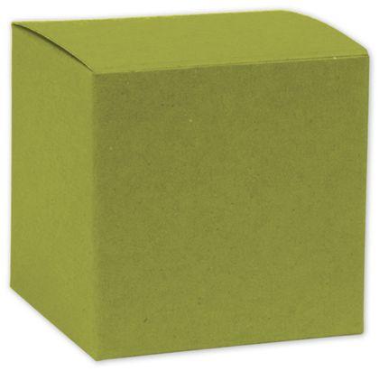 """Kiwi Green Gift Boxes, 8 x 8 x 5 1/2"""""""