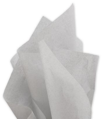 Solid Tissue Paper, Light Gray, 20 x 30
