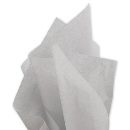 Solid Tissue Paper, Light Gray, 20 x 30""