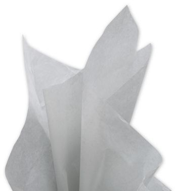 Solid Tissue Paper, Cool Gray, 20 x 30