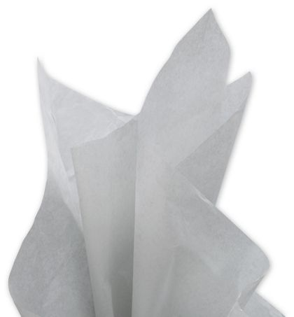 Solid Tissue Paper, Cool Gray, 20 x 30""