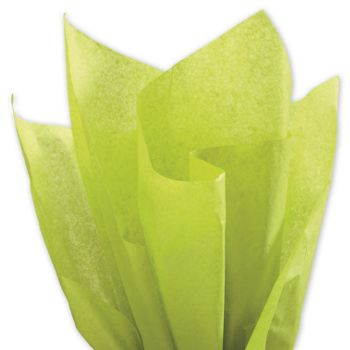 Solid Tissue Paper, Aloe, 20 x 30