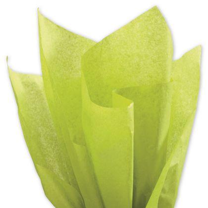 "Solid Tissue Paper, Aloe, 20 x 30"""