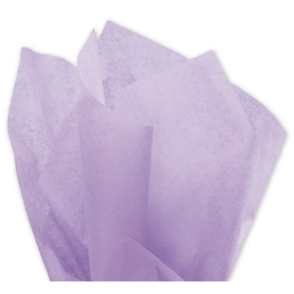 """Solid Tissue Paper, Lilac, 20 x 30"""""""