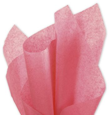Solid Tissue Paper, Island Pink, 20 x 30