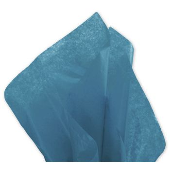 Solid Tissue Paper, Peacock Blue, 20 x 30