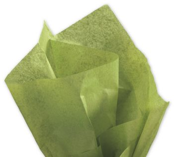 Solid Tissue Paper, Green Tea, 20 x 30