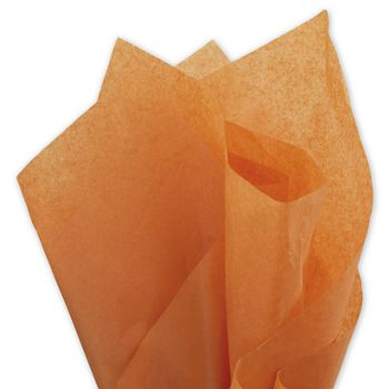 Solid Tissue Paper, Burnt Orange, 20 x 30
