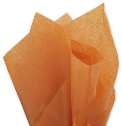 """Solid Tissue Paper, Burnt Orange, 20 x 30"""""""