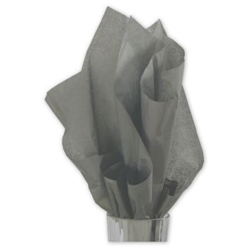 Solid Tissue Paper, Slate Gray, 20 x 30