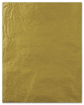 Metallic Tissue Paper, Gold, 20 x 30