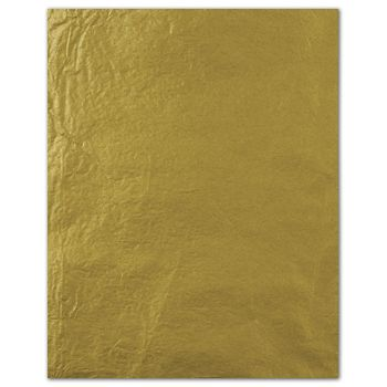 Metallic Tissue Paper, Gold, 20 x 30""