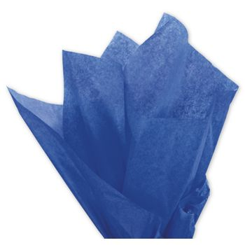 Solid Tissue Paper, Parade Blue, 20 x 30