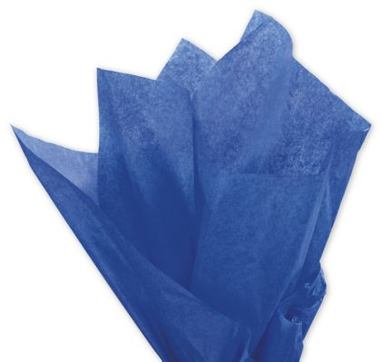 Solid Tissue Paper, Parade Blue, 20 x 30""