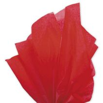 """Solid Tissue Paper, Scarlet, 20 x 30"""""""