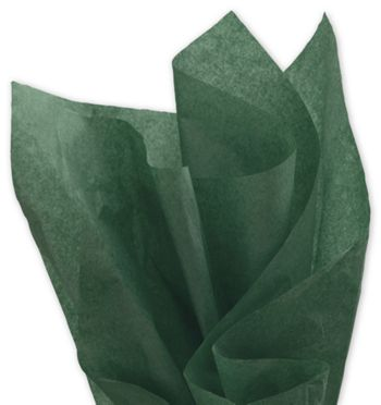 Solid Tissue Paper, Evergreen, 20 x 30