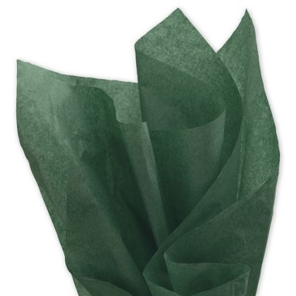 Solid Tissue Paper, Evergreen, 20 x 30""