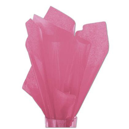 """Solid Tissue Paper, Flamingo, 20 x 30"""""""