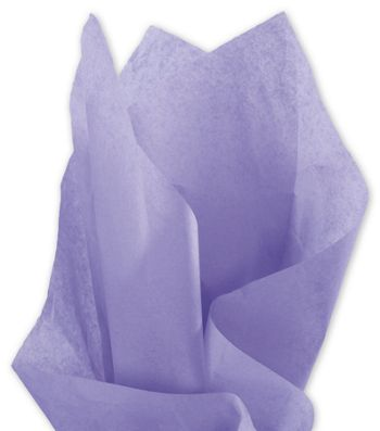 Solid Tissue Paper, Lavender, 20 x 30