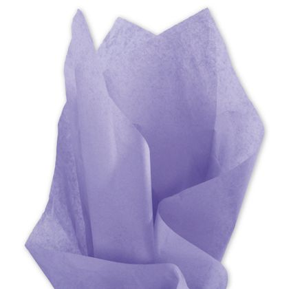 Solid Tissue Paper, Lavender, 20 x 30""