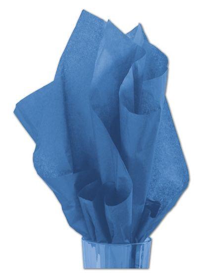 "Solid Tissue Paper, Cobalt Blue, 20 x 30"""