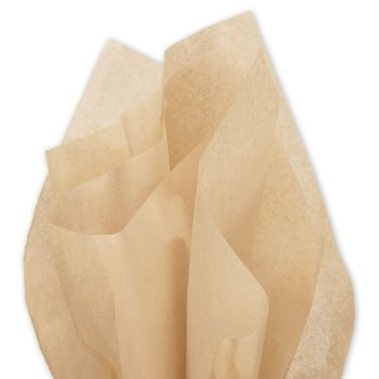 Solid Tissue Paper, Tan, 20 x 30