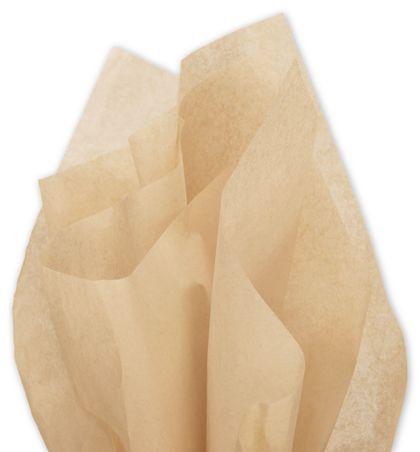 "Solid Tissue Paper, Tan, 20 x 30"""