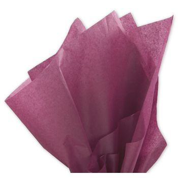Solid Tissue Paper, Cabernet, 20 x 30