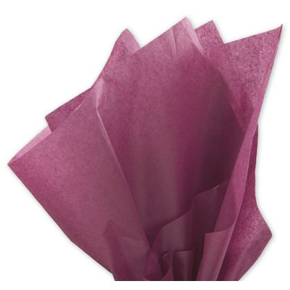 Solid Tissue Paper, Cabernet, 20 x 30""