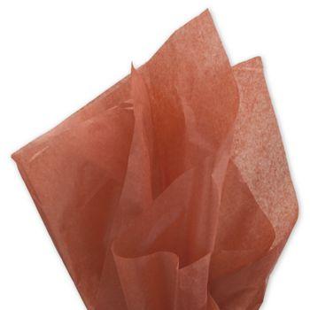 Solid Tissue Paper, Cinnamon, 20 x 30