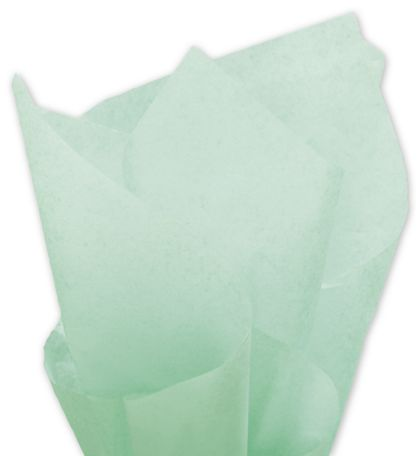 Solid Tissue Paper, Cool Mint, 20 x 30""