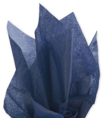 Solid Tissue Paper, Midnight Blue, 20 x 30