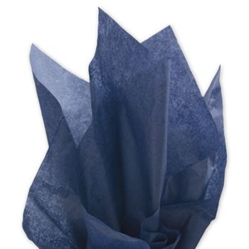 Solid Tissue Paper, Midnight Blue, 20 x 30""
