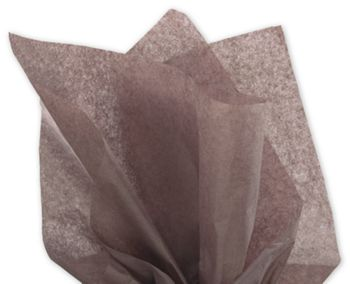 Solid Tissue Paper, Brown, 20 x 30