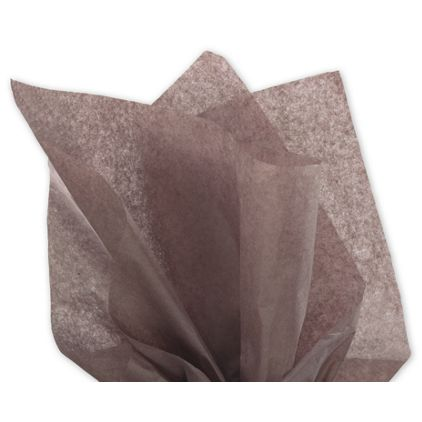 """Solid Tissue Paper, Brown, 20 x 30"""""""