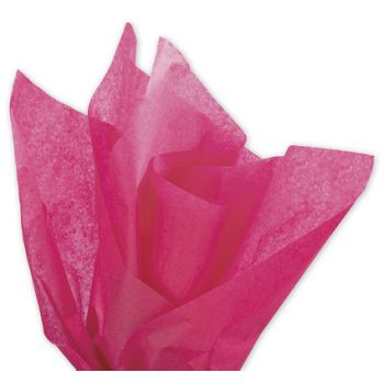 Solid Tissue Paper, Boysenberry, 20 x 30