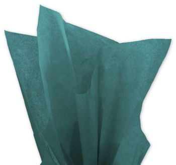 Solid Tissue Paper, Teal, 20 x 30