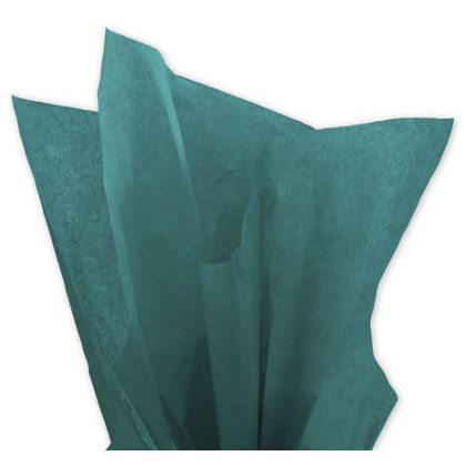 Solid Tissue Paper, Teal, 20 x 30""