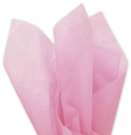 """Solid Tissue Paper, Dark Pink, 20 x 30"""""""