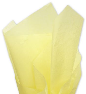 Solid Tissue Paper, Yellow, 20 x 30
