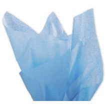 """Solid Tissue Paper, Pacific Blue, 20 x 30"""""""