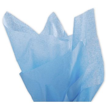 Solid Tissue Paper, Pacific Blue, 20 x 30