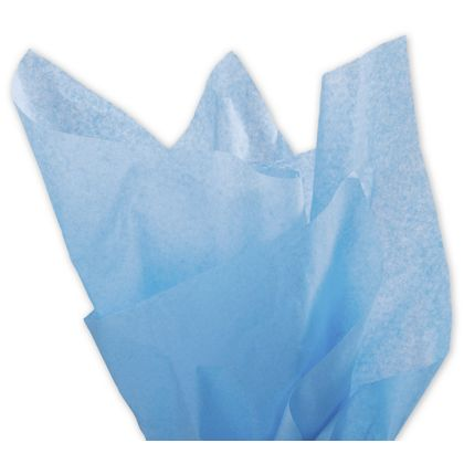 Solid Tissue Paper, Pacific Blue, 20 x 30""