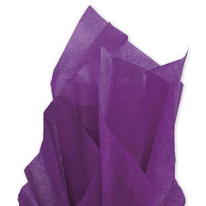 """Solid Tissue Paper, Plum, 20 x 30"""""""