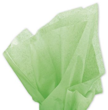 Solid Tissue Paper, Apple Green, 20 x 30
