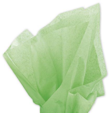 Solid Tissue Paper, Apple Green, 20 x 30""