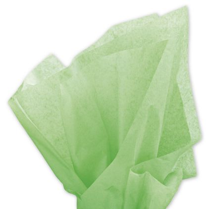 """Solid Tissue Paper, Apple Green, 20 x 30"""""""