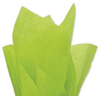 Solid Tissue Paper, Citrus Green, 20 x 30