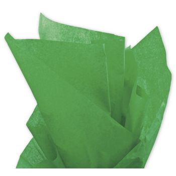 Solid Tissue Paper, Kelly Green, 20 x 30""